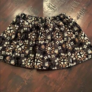Sz 2T velvety skirt - never worn!
